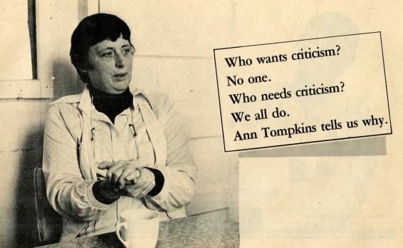 Ann Criticism SelfCriticism